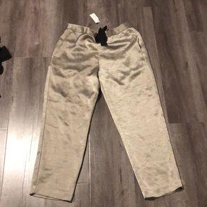 Silky dress pants